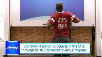 Always TV Spot, 'End Period Poverty: $2 Off' Featuring Nicole Lopez-Alvar - Thumbnail 5