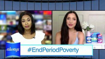 Always TV Spot, 'End Period Poverty: $2 Off' Featuring Nicole Lopez-Alvar - Thumbnail 6