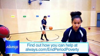 Always TV Spot, 'End Period Poverty: $2 Off' Featuring Nicole Lopez-Alvar - Thumbnail 7