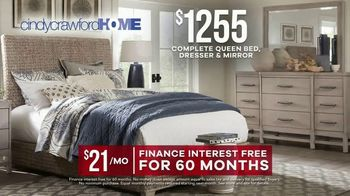 Rooms to Go Labor Day Sale TV Spot, 'Cindy Crawford Home Bedroom Set' - Thumbnail 8