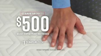 Ashley HomeStore Labor Day Preview Sale TV Spot, 'Mattress Deals: Tempur-Pedic' - Thumbnail 4
