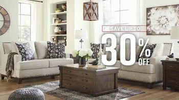 Ashley HomeStore Labor Day Preview Sale TV Spot, 'Up to 30% Off' - Thumbnail 5