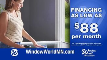 Window World State Fair Special TV Spot, 'Double Hung Windows: Special Financing' - Thumbnail 4