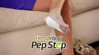 Hempvana Pep Step TV Spot, 'Stops Foot Pain: 99 Cents'