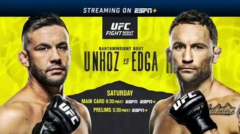 ESPN+ TV Spot, 'UFC Fight Night: Munhoz vs. Edgar' - Thumbnail 10