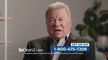 SoClean 2 TV Spot, 'Keep the Immune System Strong: $70 Off' Featuring William Shatner - Thumbnail 7