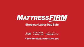 Mattress Firm Labor Day Sale TV Spot, 'Most Common Fears' - Thumbnail 7