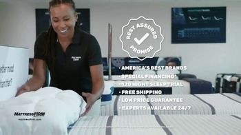Mattress Firm Labor Day Sale TV Spot, 'Most Common Fears' - Thumbnail 6