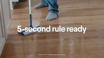 Clorox Disinfecting Wet Mopping Cloths TV Spot, 'Five-Second Rule Ready: Scentiva' Song by Donnie Daydream - Thumbnail 7
