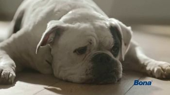 Bona PowerPlus Antibacterial Hard-Surface Floor Cleaner TV Spot, 'Clean Means Muddy Paws Leave No Trace'