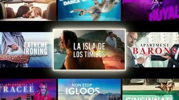 Taco Bell $5 Chalupa Cravings Box TV Spot, 'La isla de los tímidos' [Spanish]