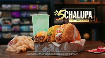 Taco Bell $5 Chalupa Cravings Box TV Spot, 'La isla de los tímidos' [Spanish] - Thumbnail 7
