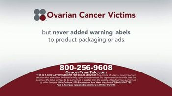 Sokolove Law TV Spot, 'Ovarian Cancer Victims' - Thumbnail 4