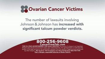 Sokolove Law TV Spot, 'Ovarian Cancer Victims' - Thumbnail 6
