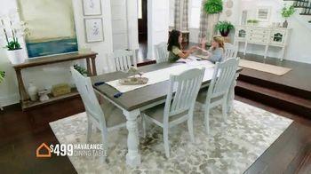 Ashley HomeStore Stars and Stripes Event TV Spot, 'Dining Tables' - Thumbnail 7