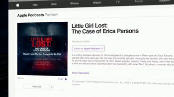 Mystery and Murder: Analysis by Dr. Phil TV Spot, 'Little Girl Lost: The Case of Erica Parsons' - Thumbnail 10