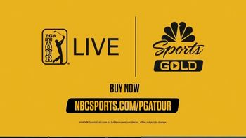 NBC Sports Gold TV Spot, 'PGA Tour Live: Exclusive Coverage' - Thumbnail 7