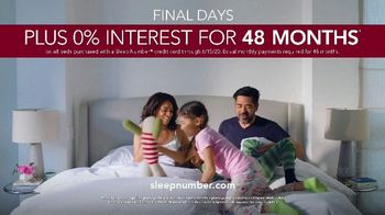 Sleep Number Summer Sale TV Spot, 'Up to $600 Savings and 0% Interest: Free Delivery' - Thumbnail 10