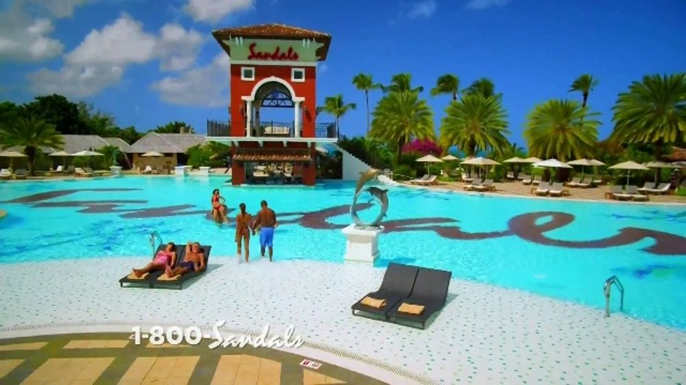 Sandals Resorts Grande Antigua TV Commercial, 'Falling in Love: Now Open'