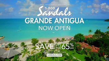 Sandals Resorts Grande Antigua TV Spot, 'Falling in Love: Now Open' - Thumbnail 8