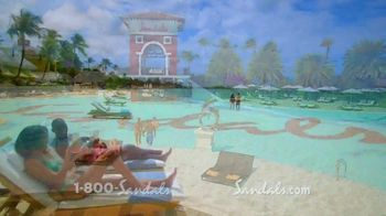 Sandals Resorts Grande Antigua TV Spot, 'Falling in Love: Now Open' - Thumbnail 3