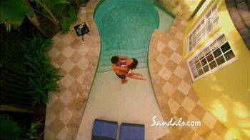 Sandals Resorts Grande Antigua TV Spot, 'Falling in Love: Now Open' - Thumbnail 6