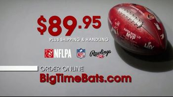 Big Time Bats TV Spot, 'Patrick Mahomes II Super Bowl LIV MVP Art Football' - Thumbnail 5