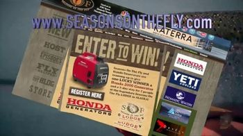 Seasons on the Fly TV Spot, 'Win a Honda Generator and Trip for Two' - Thumbnail 6