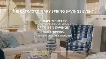 Ethan Allen The Extraordinary Spring Savings Event TV Spot, 'Luxury' - Thumbnail 9