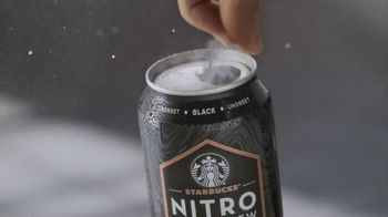 Starbucks Nitro Cold Brew TV Spot, 'Smooth Like Nitro' Song by Letherette - Thumbnail 1