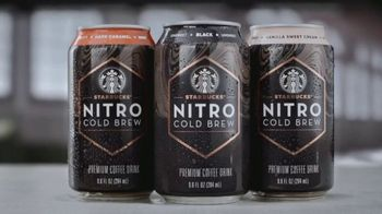 Starbucks Nitro Cold Brew TV Spot, 'Smooth Like Nitro' Song by Letherette - Thumbnail 8