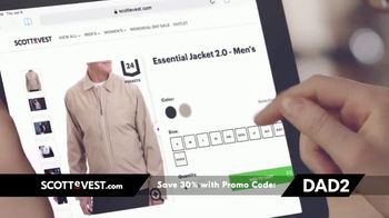 SCOTTeVEST Father's Day Sale TV Spot, 'Pockets: 30 Percent Off' - Thumbnail 10