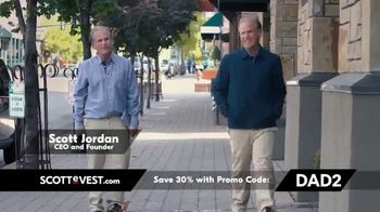 SCOTTeVEST Father's Day Sale TV Spot, 'Pockets: 30 Percent Off' - Thumbnail 2