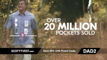 SCOTTeVEST Father's Day Sale TV Spot, 'Pockets: 30 Percent Off' - Thumbnail 4