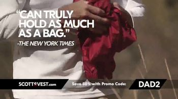 SCOTTeVEST Father's Day Sale TV Spot, 'Pockets: 30 Percent Off' - Thumbnail 8