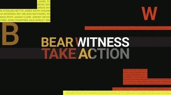 YouTube TV Spot, 'Bear Witness, Take Action'