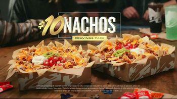 Taco Bell $10 Nachos Cravings Pack TV Spot, 'More' - Thumbnail 8