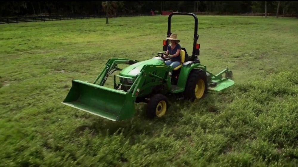 John Deere 3E Series TV Commercial, 'Karen's Land: Breeders' Cup'