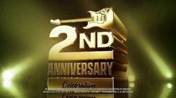 HardRockCasino.com TV Spot, 'Celebrating Two Years: $50,000'