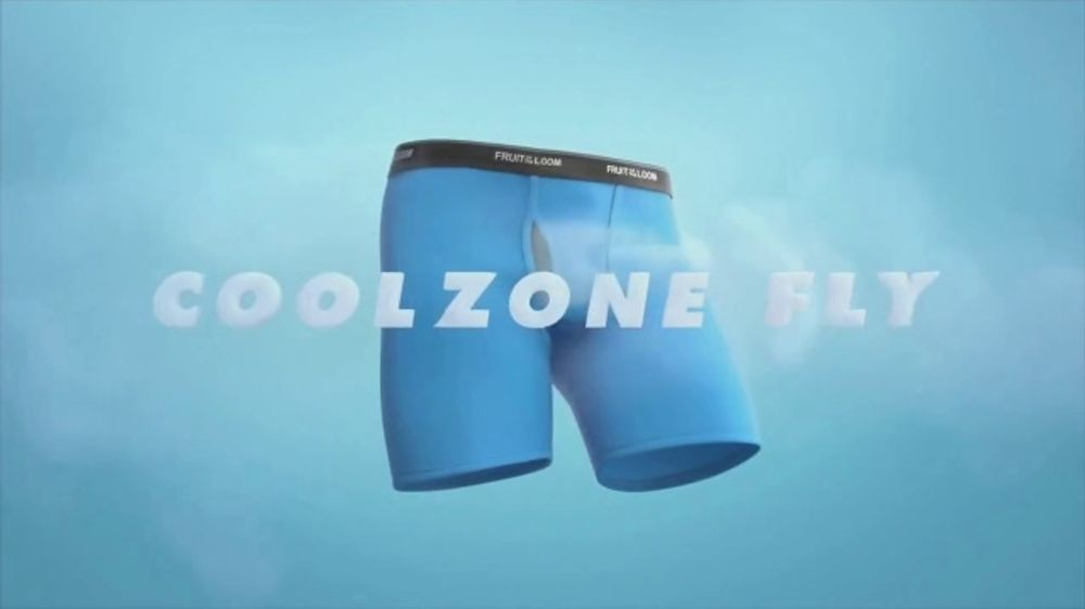 Fruit of the Loom TV Commercial, 'CoolZone Fly'