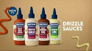 Best Foods Drizzle Sauces TV Spot, 'Restaurant Flavor' - Thumbnail 8