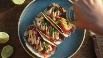 Best Foods Drizzle Sauces TV Spot, 'Restaurant Flavor'