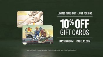 Bass Pro Shops TV Spot, 'Escape to the Outdoors With Dad: Gift Cards' - Thumbnail 9