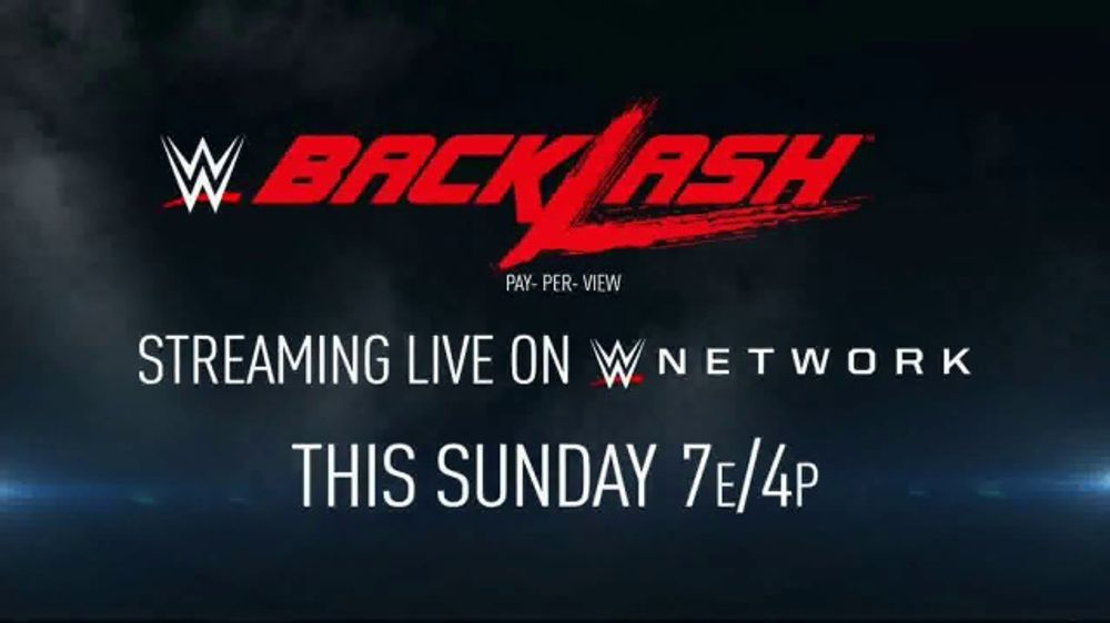 WWE Network TV Commercial, '2020 Backlash'