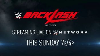 WWE Network TV Spot, '2020 Backlash'