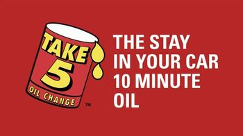 Take 5 Oil Change TV Spot, 'Handshakes Through Windows Are Weird'