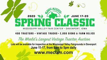 Mecum Gone Farmin' 2020 Spring Classic TV Spot, '500 Vintage Tractors' - Thumbnail 10