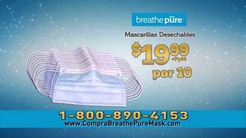 Breathe Pure TV Spot, 'Mascarillas desechables' [Spanish] - Thumbnail 5
