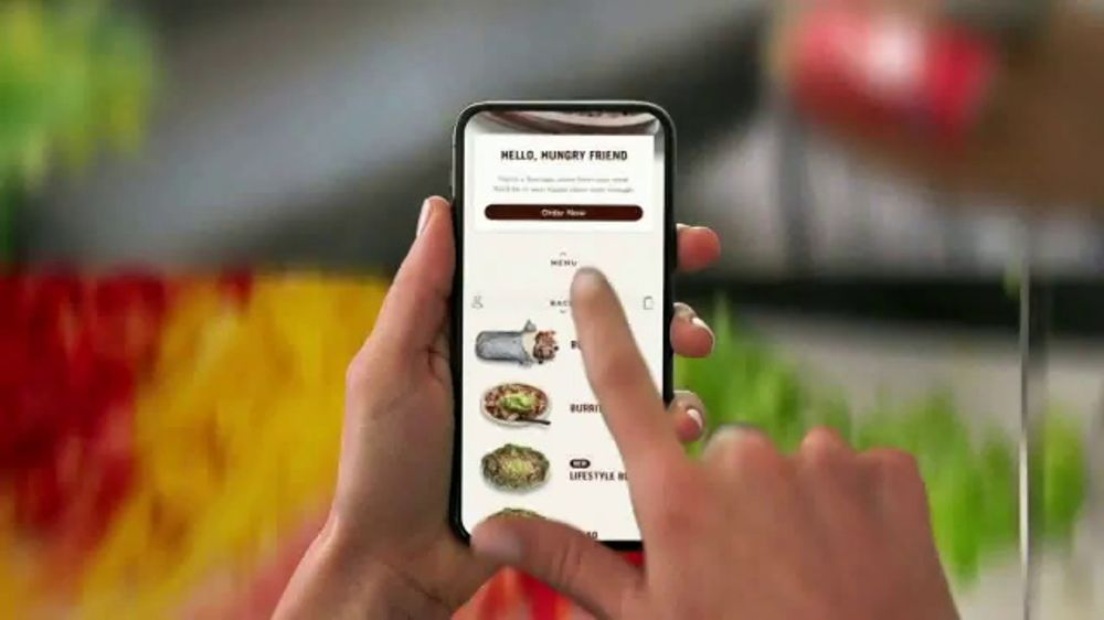 Chipotle App TV Commercial, 'Ready For You: $1 Delivery Fee'