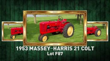 Mecum Gone Farmin' 2020 Spring Classic TV Spot, 'The Steve Weeber Collection'